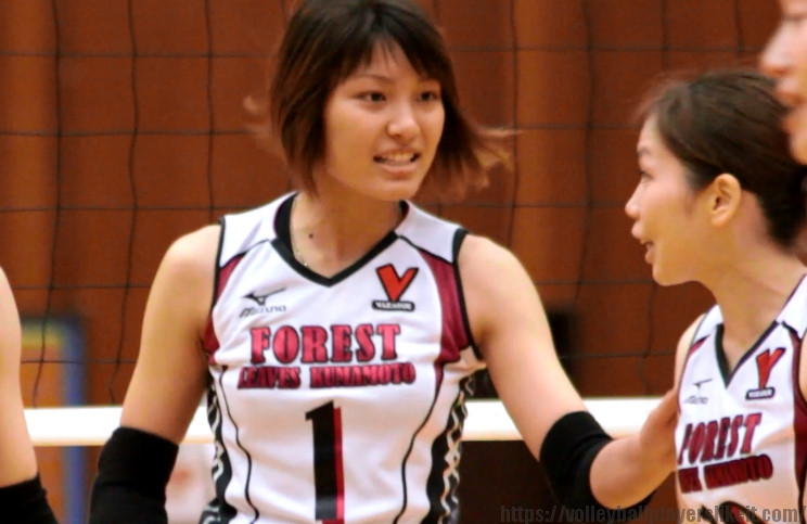 1番ウイングスパイカー 斉藤千佳選手(Chika Saito)