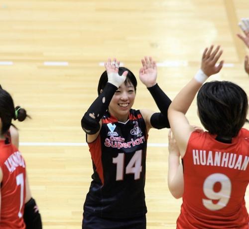 14番リベロ 須田美南選手(Mimami Suda) (1)
