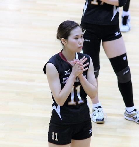 11番ウイングスパイカー 萩原希選手(Nozomi Hagihara)