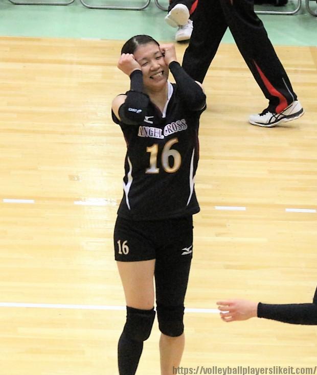 名原寧音選手(Nene Nahara)
