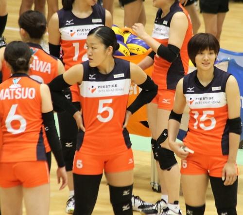 中田香澄選手(Kasumi Nakada)