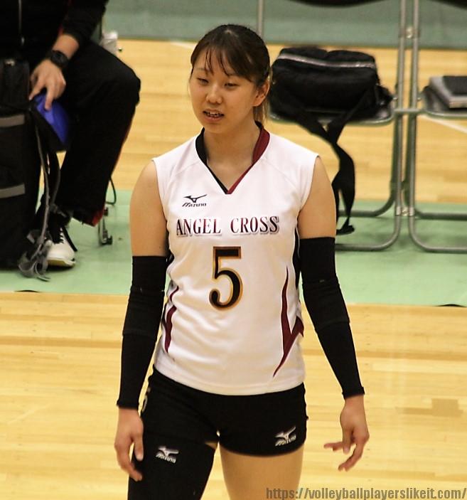 柏エンゼルクロス5番ウイングスパイカー田中実季選手(Miki Tanaka)淑徳SC高→日本女体大