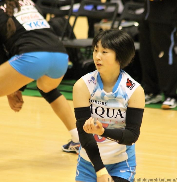 白﨑麻友香選手(Mayuka Shirosaki)