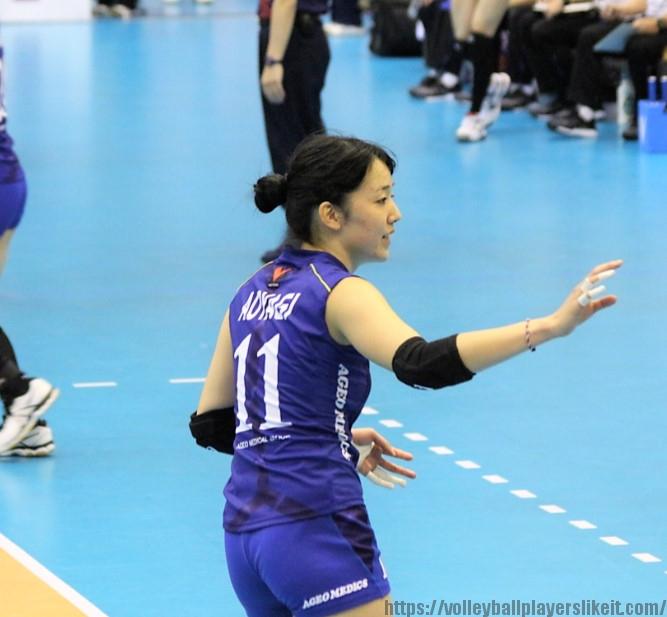 青柳京古選手(Kyoko Aoyagi)