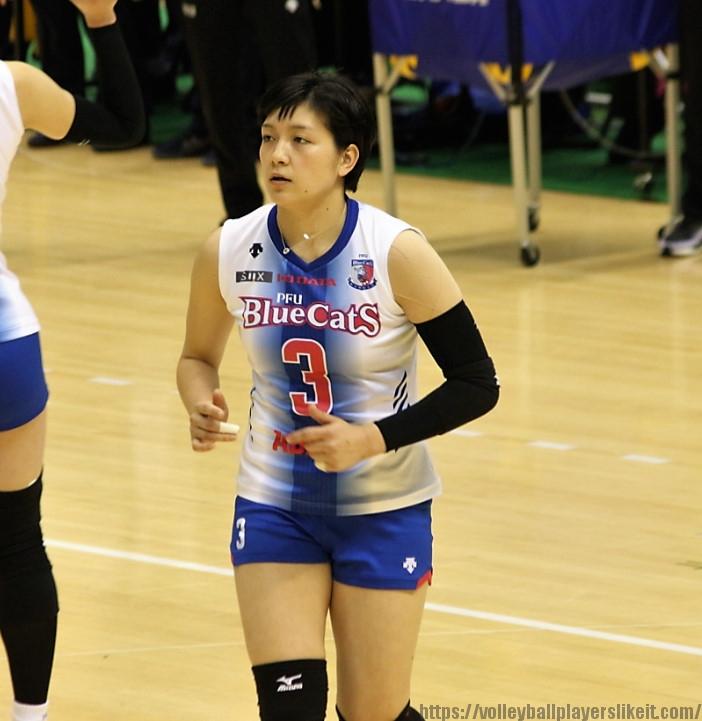 吉安遥選手(Haruka Yoshiyasu)