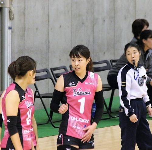 筒井視穂子選手(Mihoko Tsutsui)