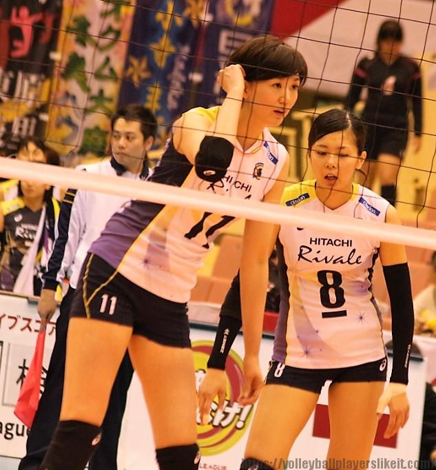 栗原恵選手(Megumi Kurihara)