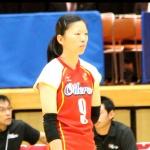 9番ウイングスパイカー 松本晴香選手(Haruka Matsumoto)