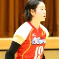 19 番 ウイングスパイカー 佐藤愛美 Megumi Sato