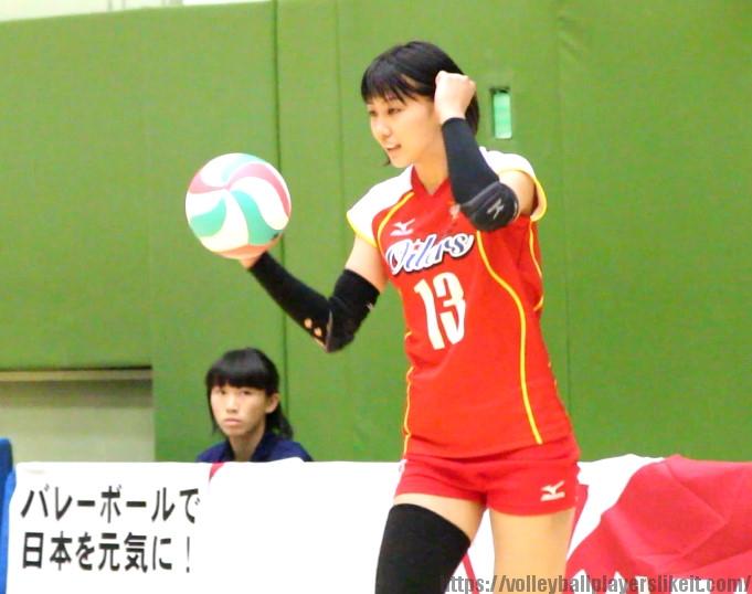 吉里遥選手(Haruka Yoshizato)