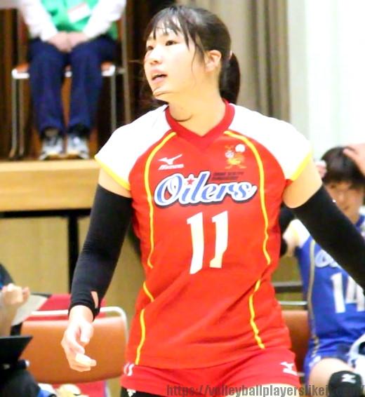 北川育海選手(Minari Kitagawa)