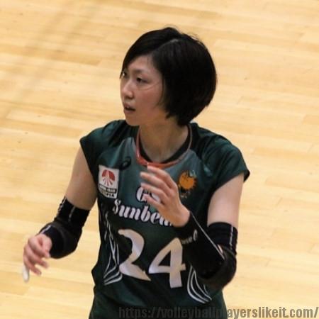 縄田香世子選手  Kayoko Nawata
