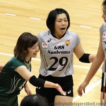 勝見咲子選手    Sakiko Katsumi