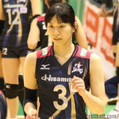 新鍋理沙選手    Risa Shinnabe