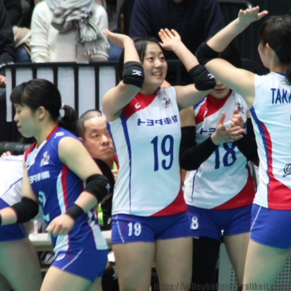 安井由香子選手 Yukako Yasui