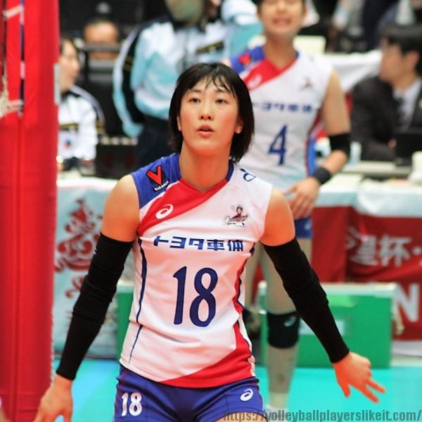 山上有紀選手 Yuki Yamagami