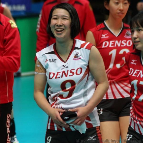 小口樹葉選手 Mikiha Oguchi