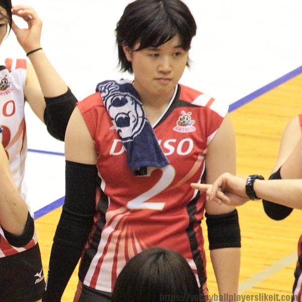 積山春花選手 Haruka Sekiyama