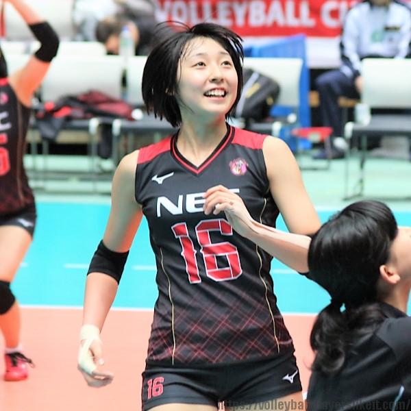 荒谷栞選手 Shiori Aratani