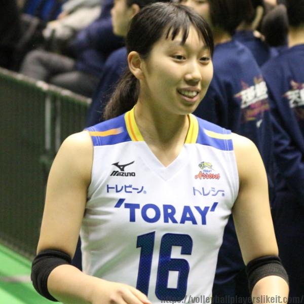 中田紫乃選手 Shino Nakata