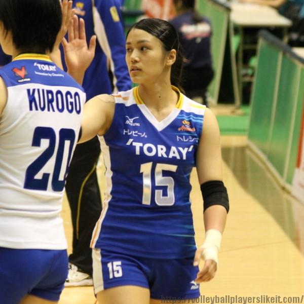 中川有美 選手 Yumi Nakagawa
