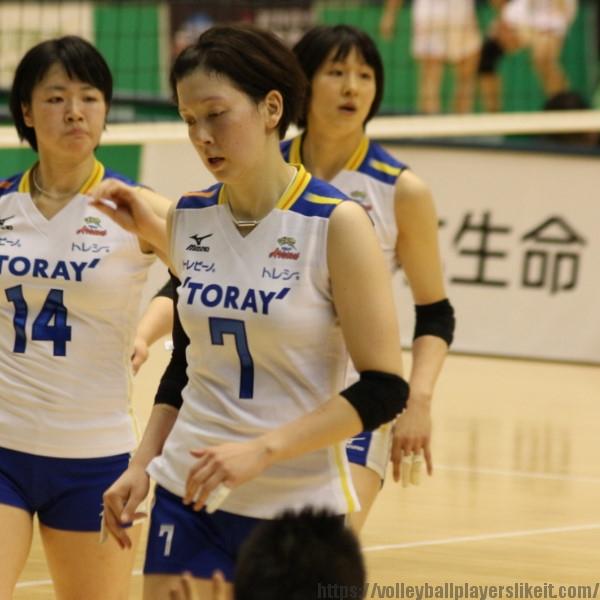 堀川真理選手 Mari Horikawa