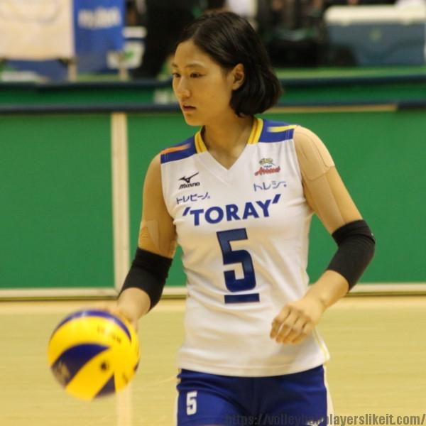田代佳奈美選手 Kanami Tashiro