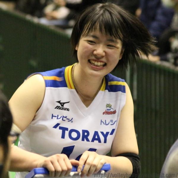 白井美沙紀選手 Misaki Shirai