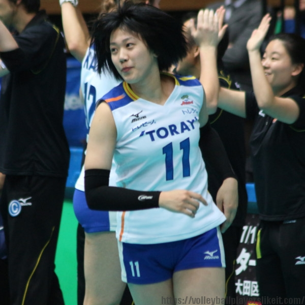 杉原若葉選手 Wakaba Sugihara