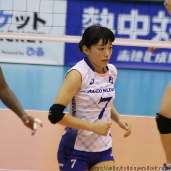 山岸あかね選手 Akane Yamagishi
