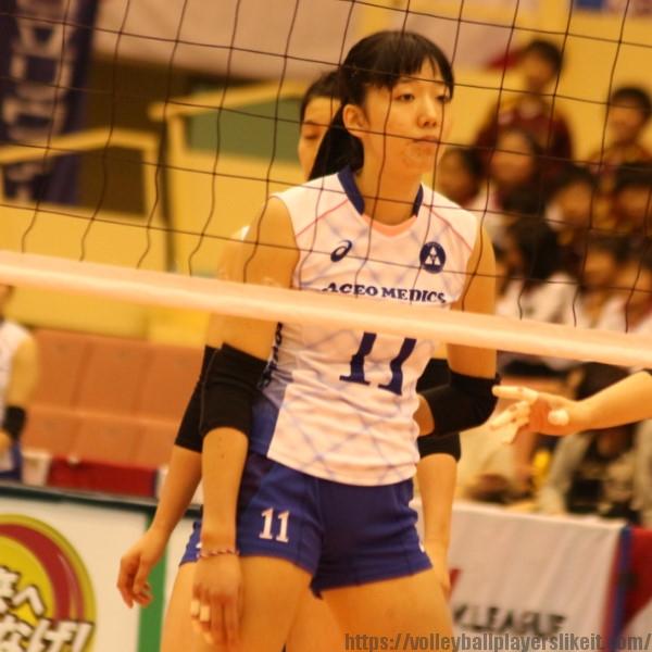 青柳京古選手 Kyoko Aoyagi