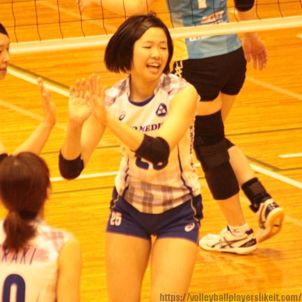 山崎のの花選手 Nonoka Yamazaki