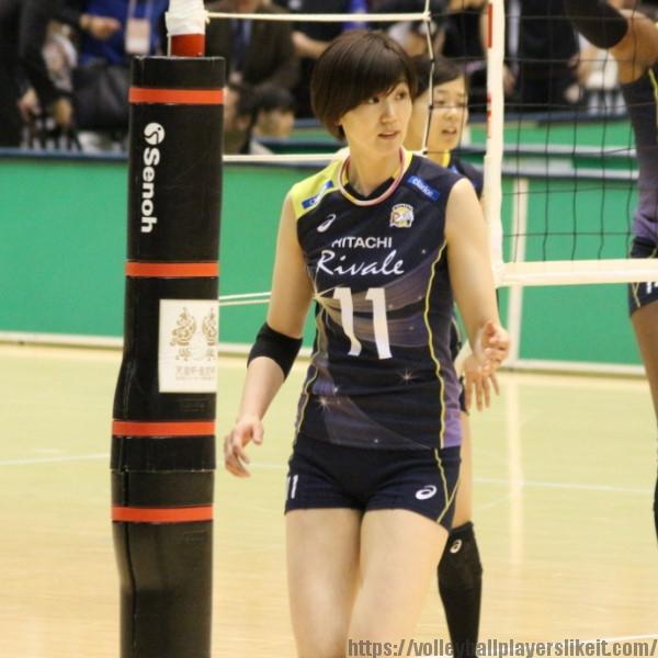 栗原恵 選手 Megumi Kurihara
