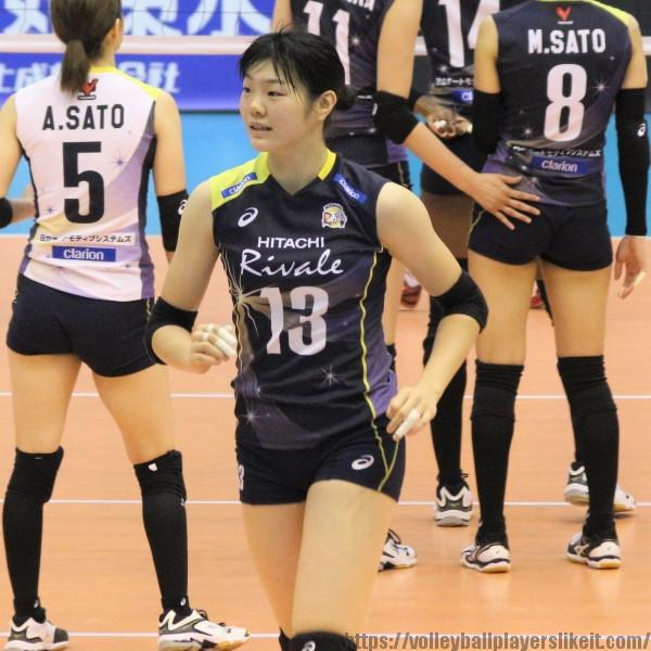 長内美和子選手   Miwako Osanai