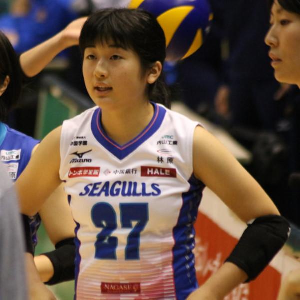 楢崎慈恵選手   Yoshie Narasaki