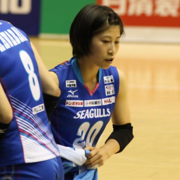 丸山亜季選手     Aki Maruyama