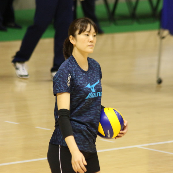 山口舞選手     Mai Yamaguchi