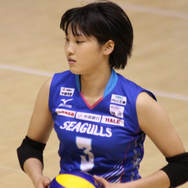 田口絢佳選手 Ayaka Taguchi