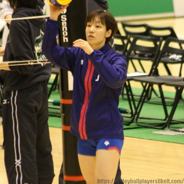 正里菜選手     Rina Sho