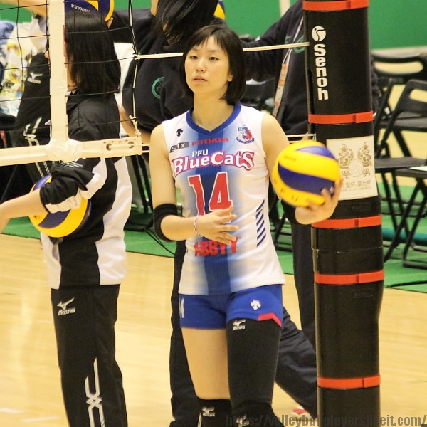島畑奈緒子選手 Naoko Shimahata