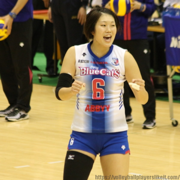 村上華澄選手 Kasumi Murakami
