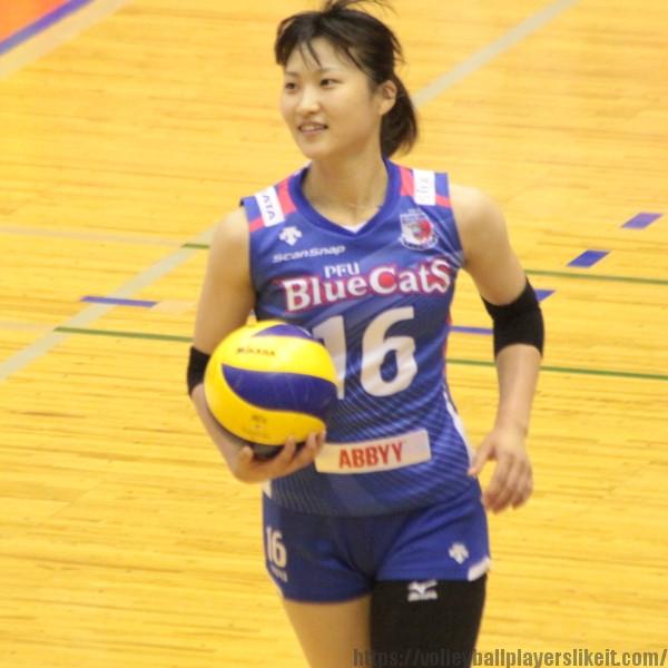 宇田沙織選手   Saori Uda