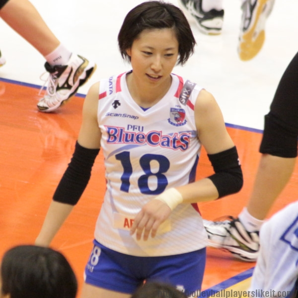 新井祐喜子 選手 Yukiko Arai
