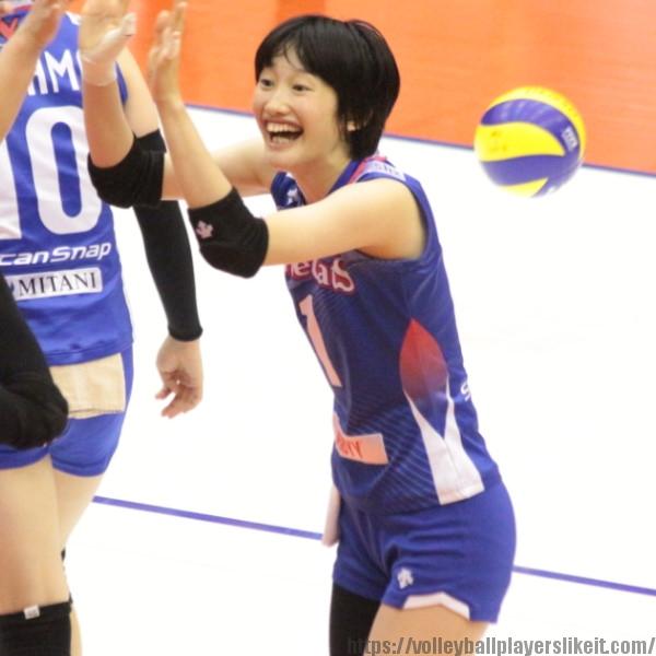 有田妃奈乃 選手 HinanoArita