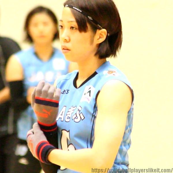 山本裕香選手        Yuka Yamamoto