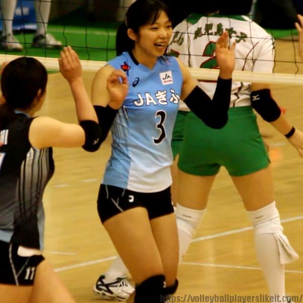 今井里美選手     Satomi Imai