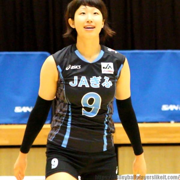 本間真樹子選手    Makiko Honma