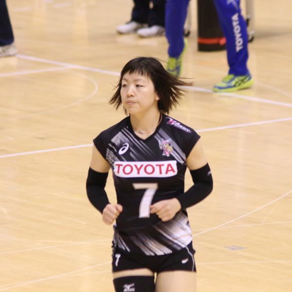 後藤真利 選手 Mari Goto