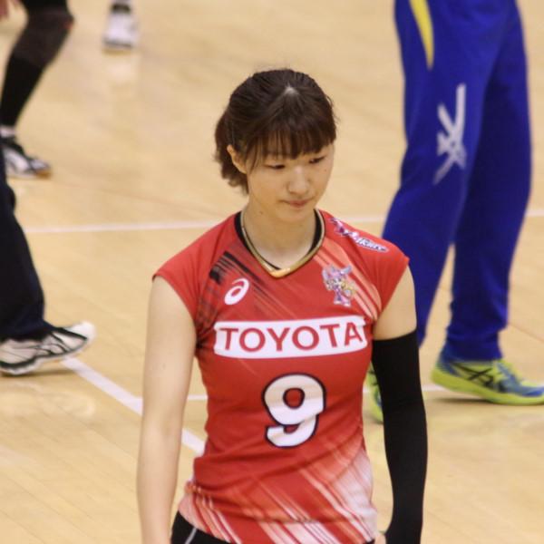 廣田唯選手         Yui Hirota