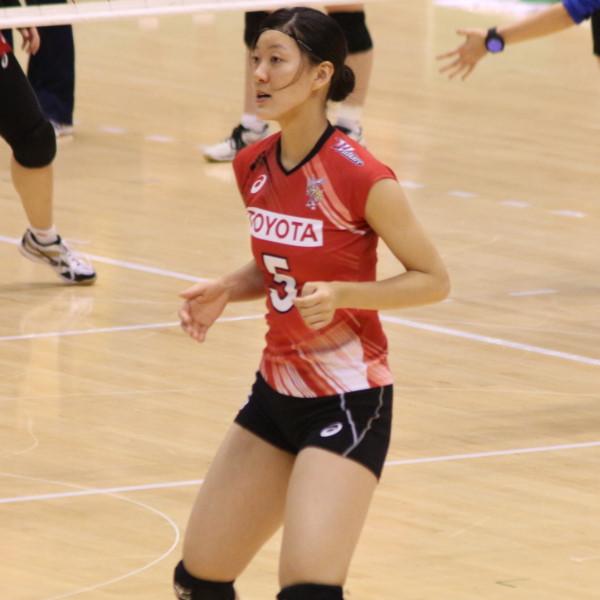権藤玲奈選手      Reina Gndo